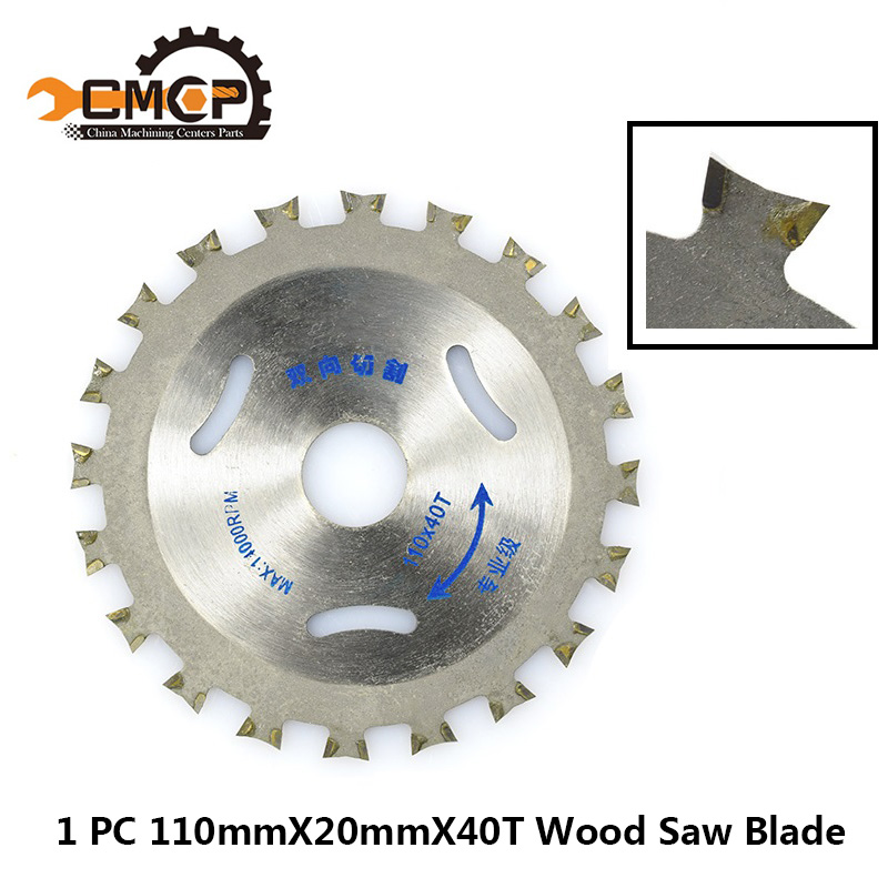 1pc 110mmx20mm 40T Double Side Tipped TCT Circular Saw Blade Multipurpose Woodworking Cutting Disc 4 Inch Wood Saw Blade