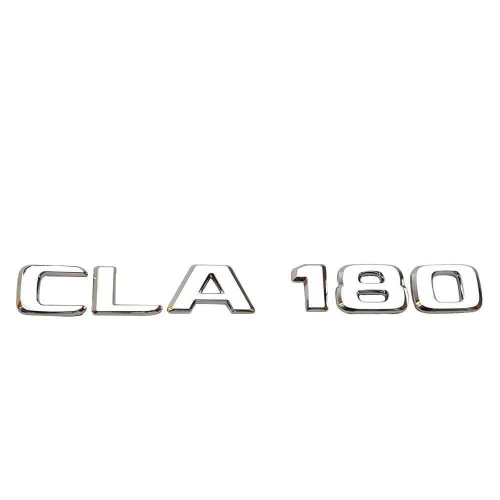 車のリアトランク数文字ステッカーメルセデスベンツ amg cla CLA180 CLA200 CLA220 CLA250 CLA260 トリムロゴエンブレム銘板