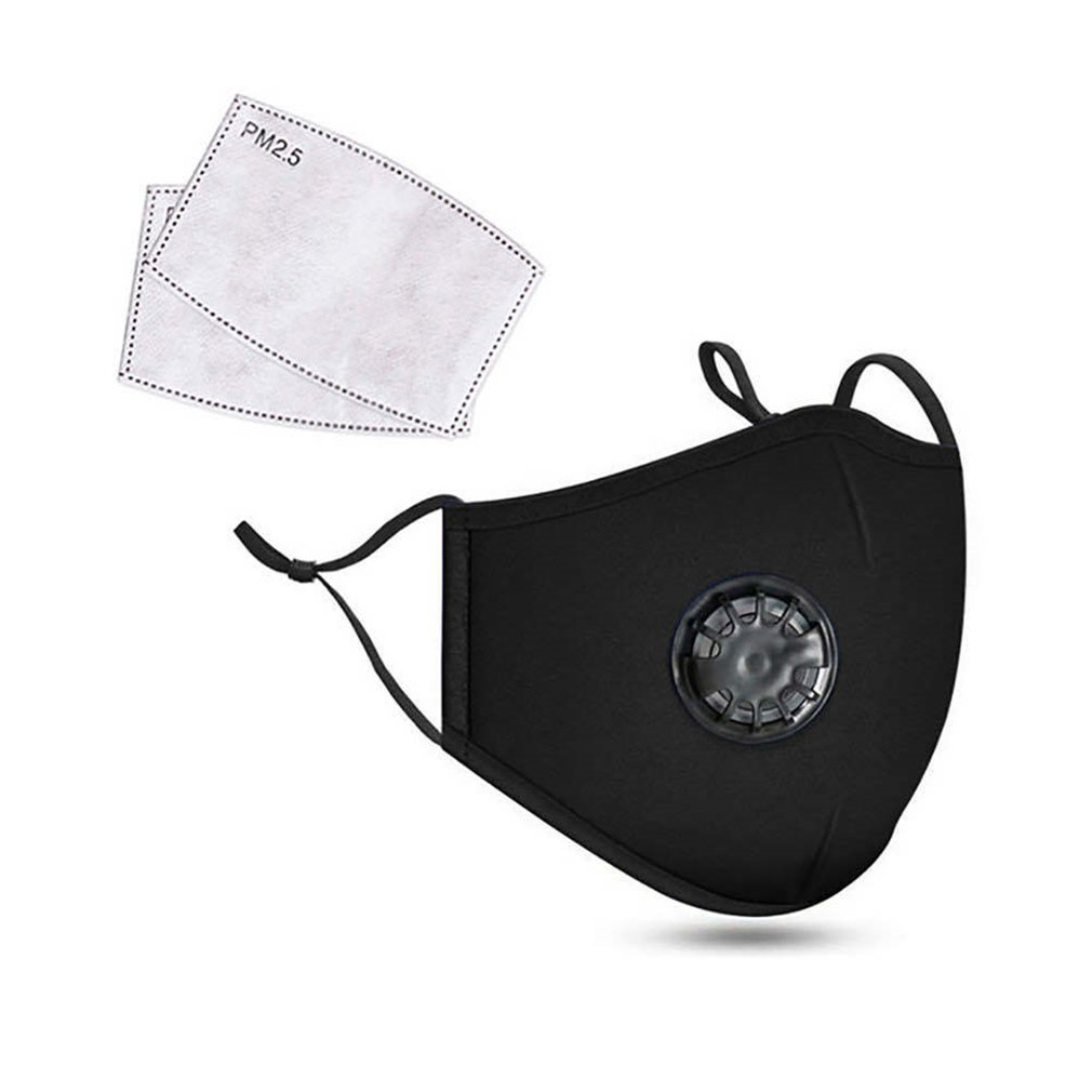 Breathing Value Anti-fog Pm2.5 Mask Half Face Mask Outdoor Mask  With Filter  Protective Mask   Mouth-Muffle Mask
