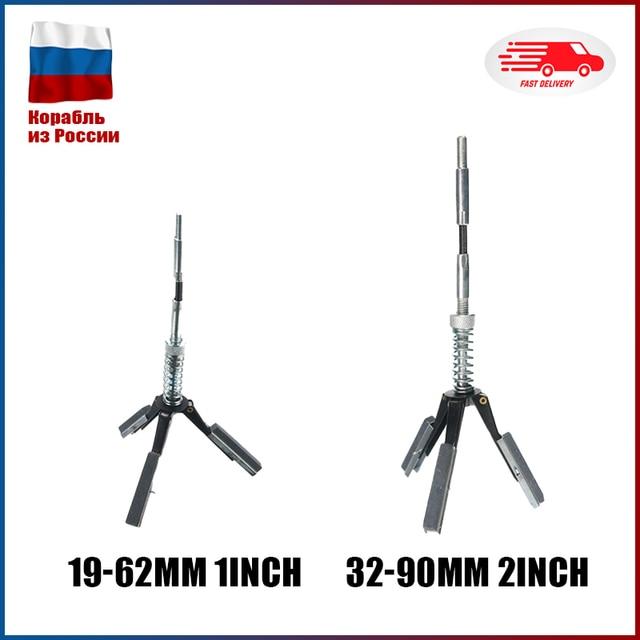 19mm   62mm Auto Motor Zylinder Bremse Honen Stein 3 Backe Einstellbar Bohrung Schärfen Stahl Flexible Welle Honen werkzeug