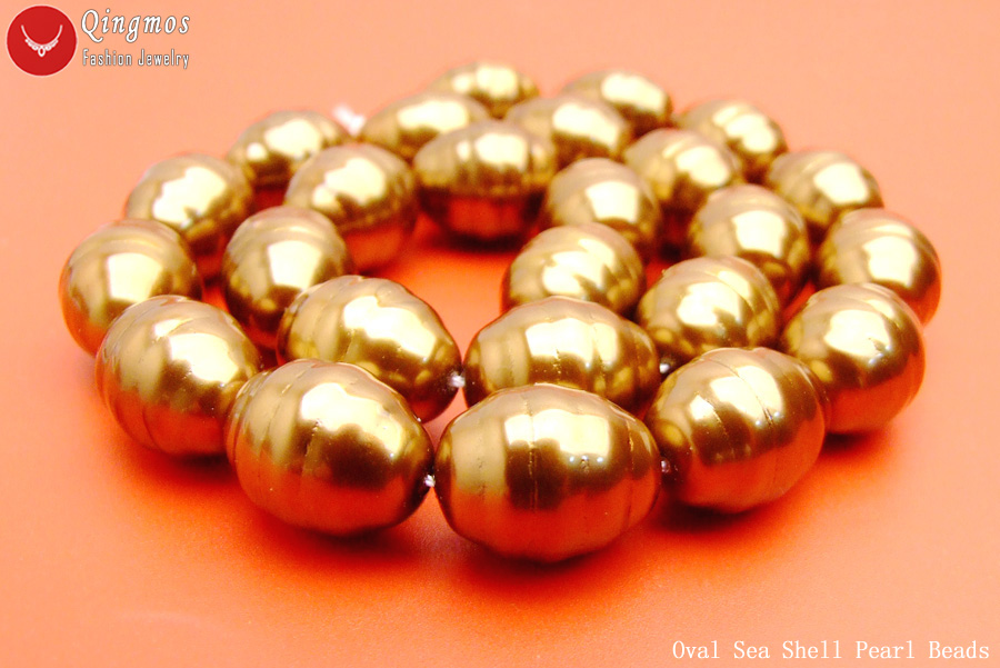 """Big 12mm Round white High Quality Sea shell PEARL loose beads strands 15/""""-los121"""