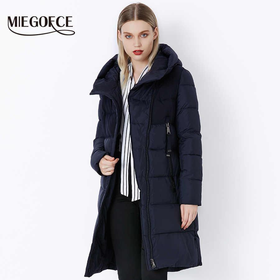 MIEGOFCE 2019 hiver veste femme manteau coupe-vent chaud femmes Parkas épaississement coton rembourré femme veste nouvelle Collection