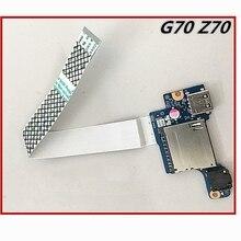 USB-плата для ноутбука, плата аудиоинтерфейса, USB-материнская плата для Lenovo G70, серия Z70, зеркальная фотография