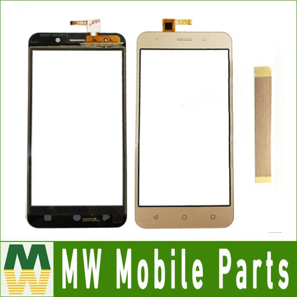 For INOI 2 Lite / INOI 2 / INOI 3 Lite / INOI 3 Touch Screen Sensor Glass Digitizer Black Gold Color TAPE For Free