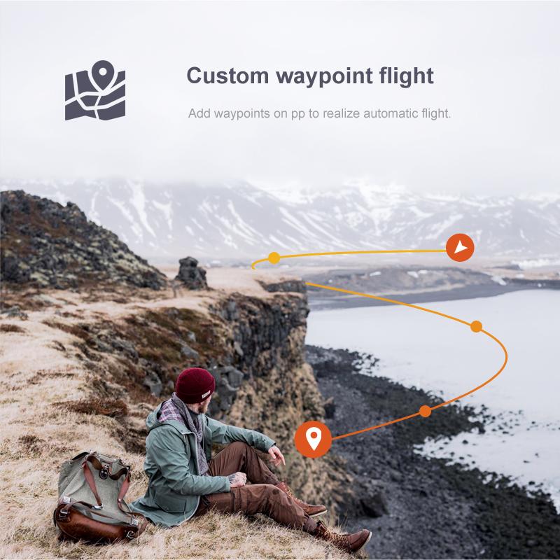 custom drone waypoints