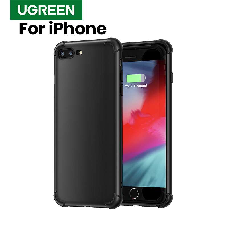 Ugreen чехол для iPhone 7 на iPhone 7 защитный чехол для 6 6s 7 plus 8 plus X Xs Max XR чехол для телефона защитный чехол для iPhone X