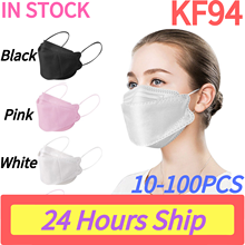 Маска kf94mascarilla fpp2 homologada kf94FaceMask mascarillas fpp2 mascarillas ffp2 mascarillas ffp2повторно используемая, 10-100 шт.
