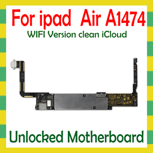 Image 3 - Original Unlock Mainboard For iPad 5 Air A1474  A1475 WLAN Cellular Version Motherboard 16G 32G 64G Logic Mother Board No iCloud