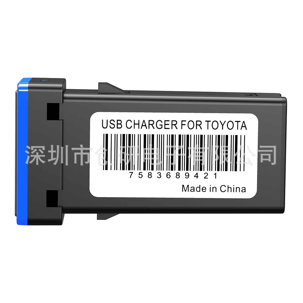 כפול USB אווירה אור שקע רכב נייד טלפון טעינה שונה אביזרי קורולה רייז פראדו