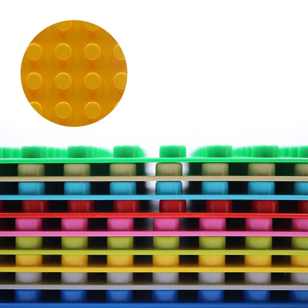 Duploe блоки 16*16 точек классические пластиковые кирпичи базовые пластины совместимые duploed животные плинтусы игрушки для детей