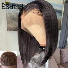 Парики bob для женщин человеческие волосы короткий квадратный