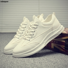 Trendy Shoes Korean-Version Men's Summer New of White Increase Students