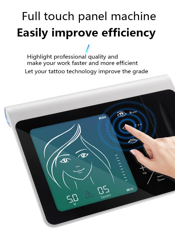 Новейшая Перманентная машина для макияжа Цифровая Электрическая Вращающаяся ручка для бровей и губ MTS PMU system Makeup Machine