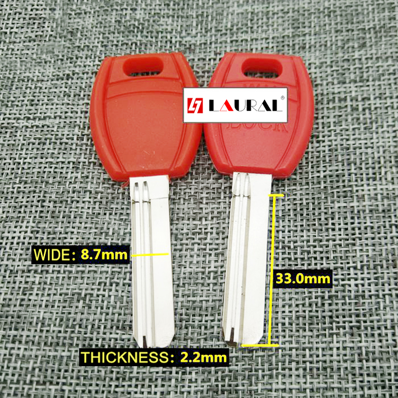 Best Quality  Lock Cylinder House Home Door Key Blanks Locksmith Supplies Red Blank Keys 20 Pcs/lot