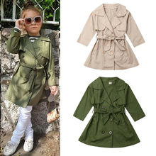 Одежда для маленьких девочек осенне-зимний плащ, верхняя одежда, пальто, ветровка, верхняя одежда, парка, пальто