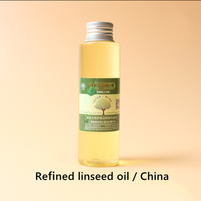 Купить с кэшбэком Refined linseed oil China, repair dry skin, keep moist, smooth, elastic, anti-inflammatory conditioning and enhance resistance