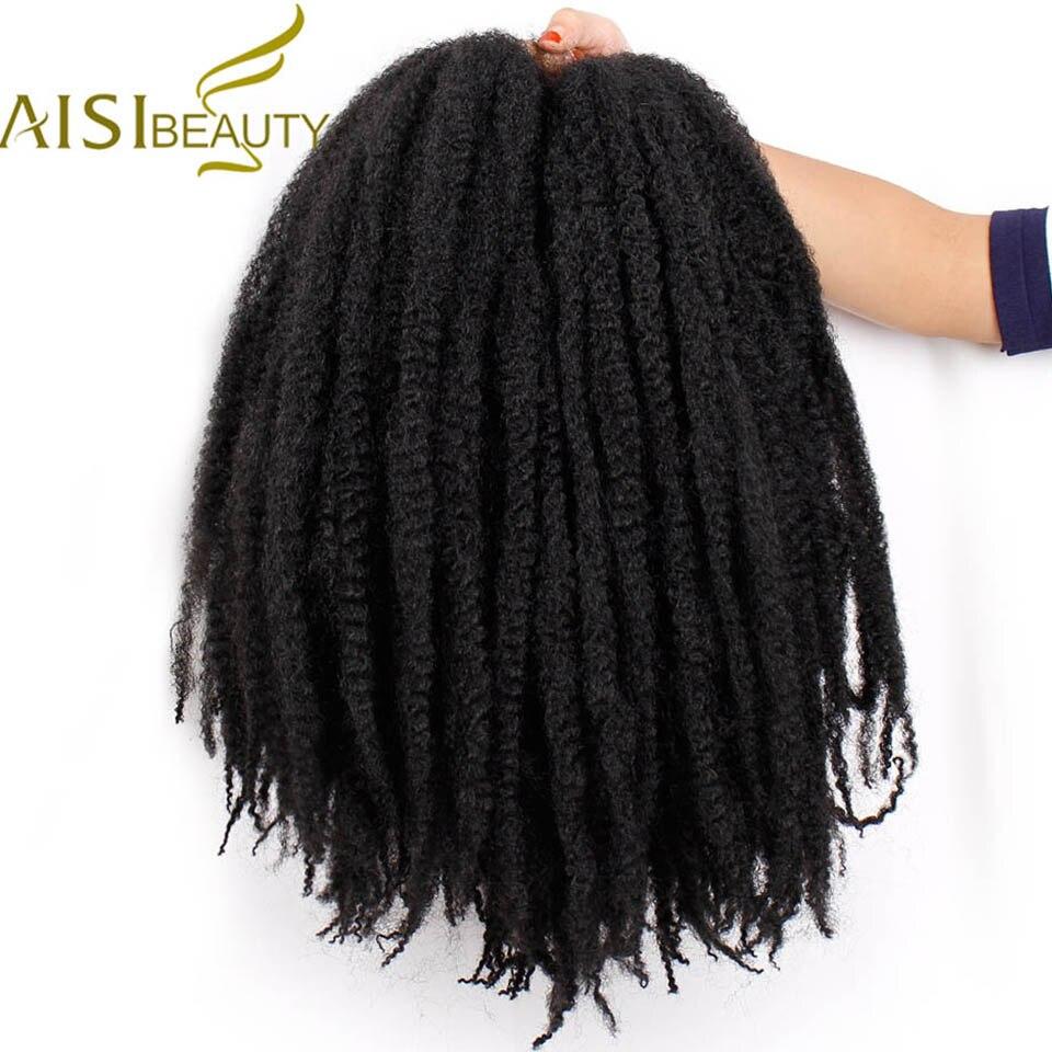 AISI BEAUTY Marley косы Омбре синтетические плетеные крючком Искусственные черные коричневые фиолетовые вязаные волосы