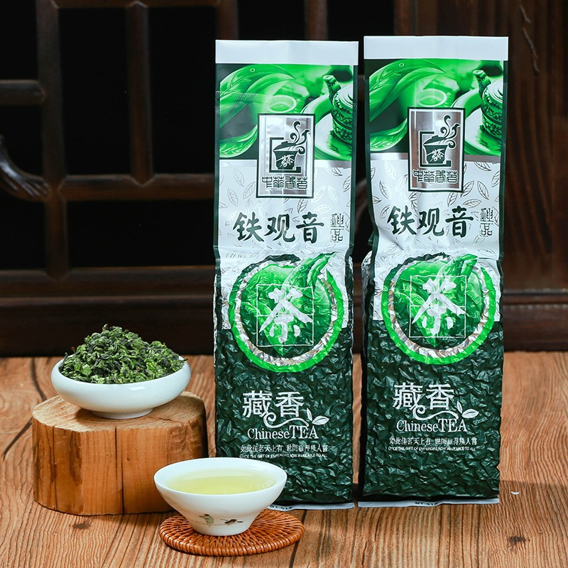 2020 Tie Kuan Yin Chinese Tea Superior Oolong Tea 1725 Organic TiekuanYin Green Tea 250g For Losing Weight Health Care Tea