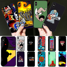 BaweiTE funny cartoon movie Earthworm Jim TPU Phone Cover for iPhone 11 pro XS MAX 8 7 6 6S Plus X 5 5S SE XR cover(China)