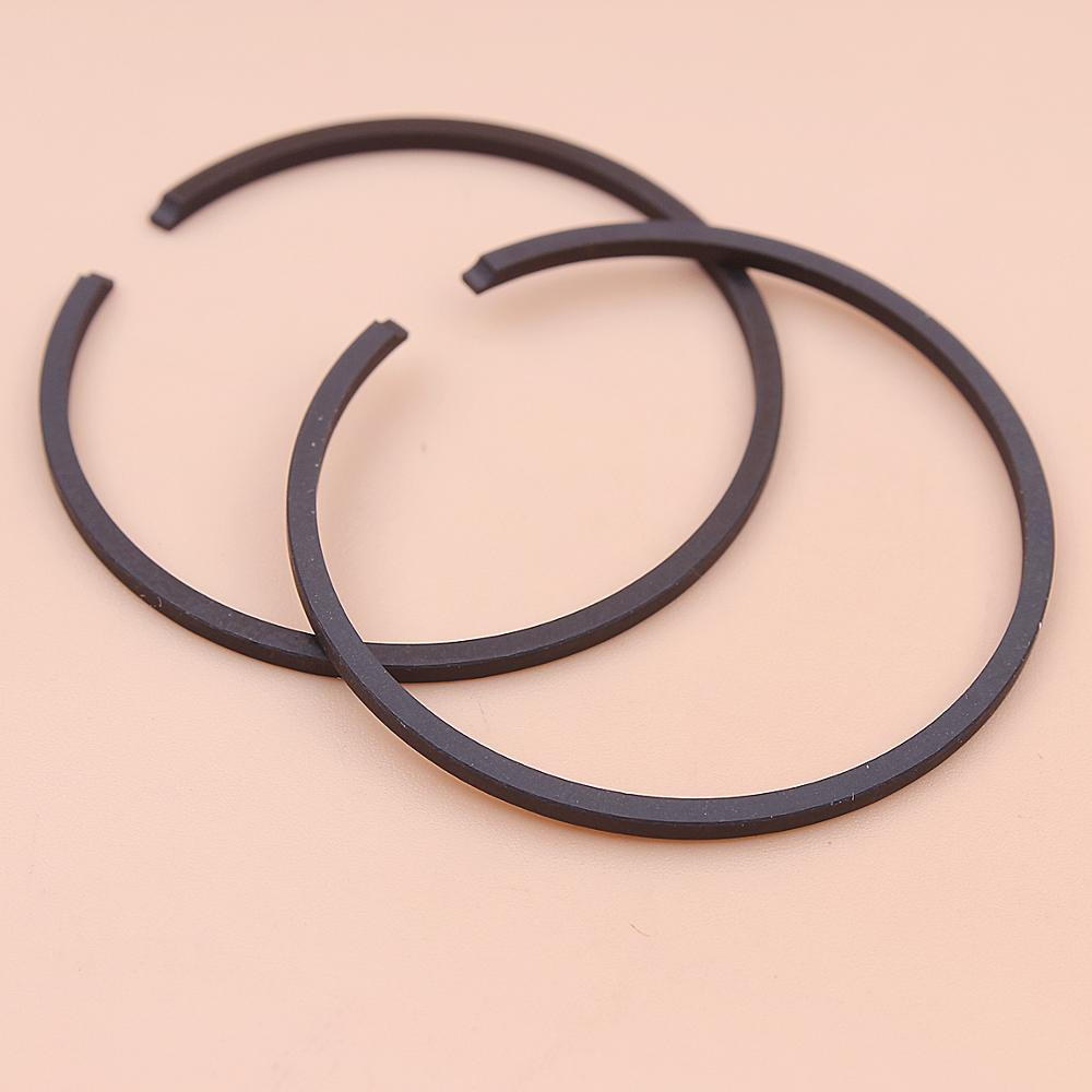2pcs/lot 49mm X 1.5mm Piston Rings For Stihl 039 042 MS390 08S Chainsaw Part 1127 034 3007