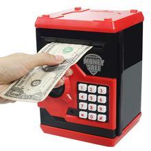 Автоматическая Электронная Копилка, банкомат с паролем, копилка для денег, автоматическая копилка для банкнот, игрушки, банкомат, Сейф