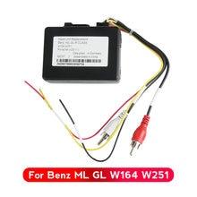 MEKEDE-decodificador de Radio estéreo para coche, decodificador de fibra óptica para la mayoría de las cajas para Mercedes Benz serie ML/GL/R y Porsche 911/boxster/Cayenne