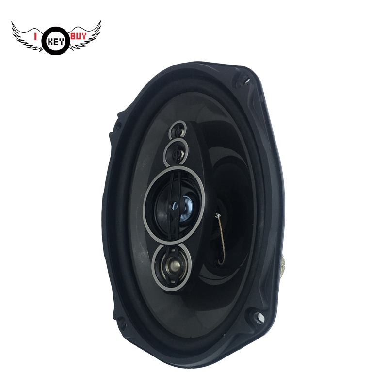 I KEY BUY 1 Pc <font><b>1200</b></font> watts 4 ohm Coaxial 6x9inch Car Speaker Audio Acoustic Van Auto Louder Speakers, image