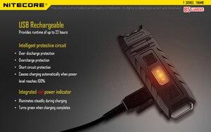 Image 4 - 100% מקורי במפעל מחיר Nitecore אגודל 120 מעלות Tiltable USB נטענת Worklight