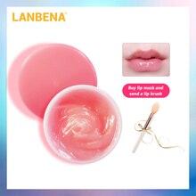 LANBENA Rose Lip Mask  Sleeping lip Mask Essence Dilute the Lip Color Moisturizing Nourishing Remove Anti Lip Line Lip Care 20g gigi mаска lip mask лечебная 75 мл