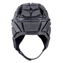 Для мужчин и женщин профессиональный футбольный голкиперский шлем Спорт Регби Кепка защита головы вратарь шлем для вратаря волокно защита головы