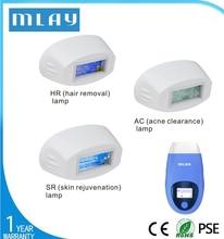 MLAY T3 accessoires épilateur lampes à Quartz avec 500000 coups épilation acné dégagement rajeunissement de la peau