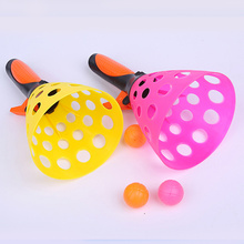 Balls Kids Game And for Adults Outdoor Garden Bac 2-Pairs Launch Catch Toss Interactive-Play-Activity