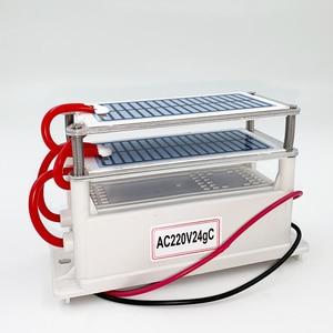 Image 4 - 24 جرام 10 جرام المحمولة مولد أوزون 220 فولت 110 فولت 12 فولت لتنقية الهواء المعالج بالأوزون معقم للاستخدام المنزلي أو السيارة