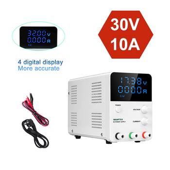 3/4 Digital Display DC Switching Lab Power Supplies Adjustable laboratory Power Supply 30V 10A Digital Voltage Regulated k3010d