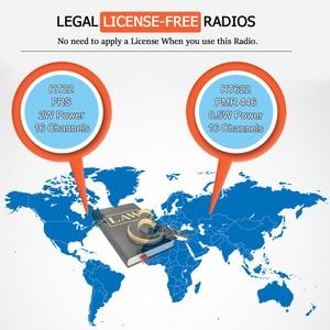 Image 4 - الجملة اسلكية تخاطب 20 قطعة RETEVIS RT22 FRS RT622 PMR راديو مفيد محطة راديو فندق مطعم مقهى لاسلكي