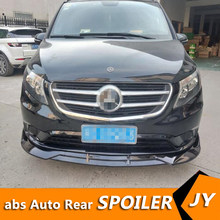 For Mercedes-Benz Vito front Bumper Diffuser Bumpers Protector For Benz Vito V-Class V260 Body kit bumper Before Rear lipspoiler(China)