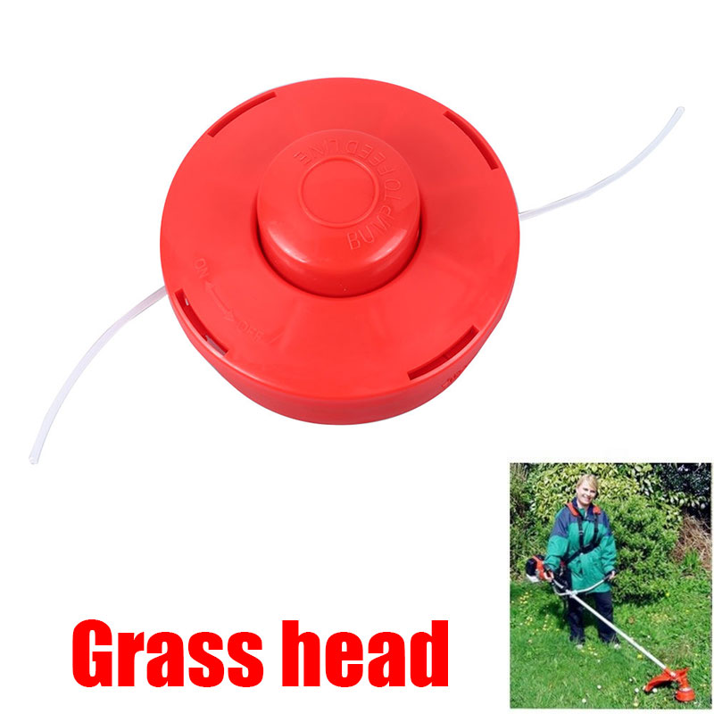 Trimmer Head Grass Trimmer Plastic  Cutting Head Durable Updated ABS Orange Playing Straw Gardening Garden Tools Coil Chain