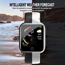 Умные часы, водонепроницаемые, пульсометр, для занятий спортом, мониторинг артериального давления, умный Шагомер