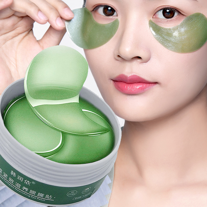 60Pcs Repair Eye Mask Anti-wrinkle Eye Cream Crystal Collagen Sleep Mask Remove Dark Circles Hydrogel Face Patch Eye Dark Mask