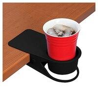 Питьевой зажим-подставка для чашек-домашний для офисного стола боковой огромный зажим для воды напиток Сода держатель кофейной кружки чашк...