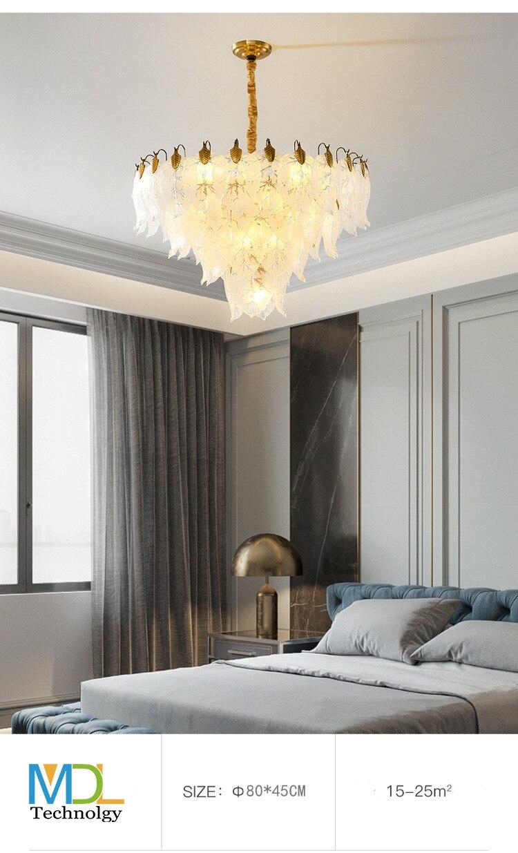 Luz moderna lustres de cristal luxo sala