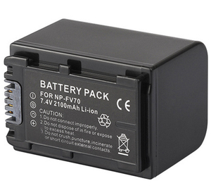 Battery Pack for Sony NP-FV30, NP-FV50, NP-FV50A, NP-FV70, NP-FV70A, NP-FV100, NP-FV100A InfoLithium V Series