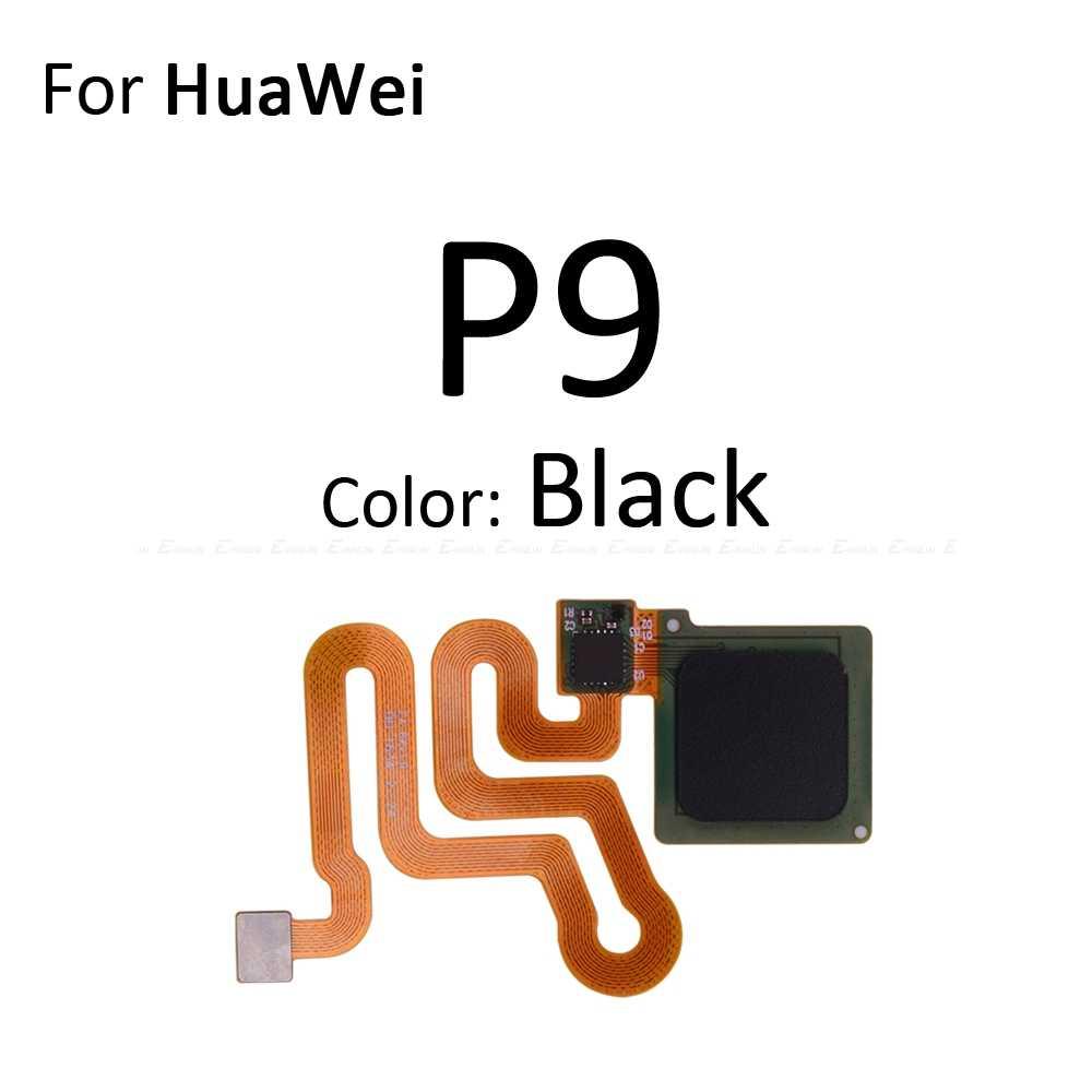Touch ID Sensor de huella digital conector de escáner Cable flexible para Huawei P9 Plus P8 Lite 2017 Mini Botón de retorno de casa clave