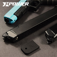 XPOWER GLOCK G34/G17 Extend Magazine Plus CNC Aluminum Alloy Increase Capacity Kublai P1 Gel Blaster Toy Gun Sports Paintball