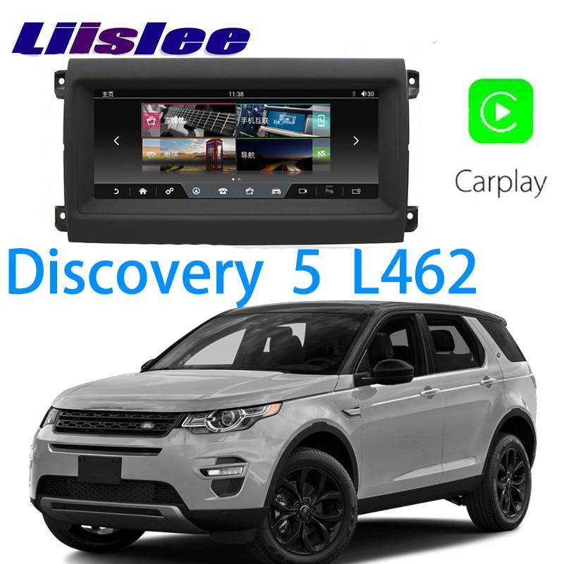 LiisLee coche Multimedia GPS Audio Hi-Fi Radio estéreo para Land Rover LR5 Discover 5 L462 2017 2020 navegación de estilo Original NAVI