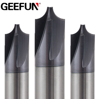 R0.5-R3 Corner Rounding End Mill Tungsten Carbide Router Bit for CNC Machine Cutter Tools Inner Corner Radius End Milling Cutter yft 2 blade hrc 60 end mill radius 2mm router bit milling cutter carbide shank metal tungsten steel cnc tools