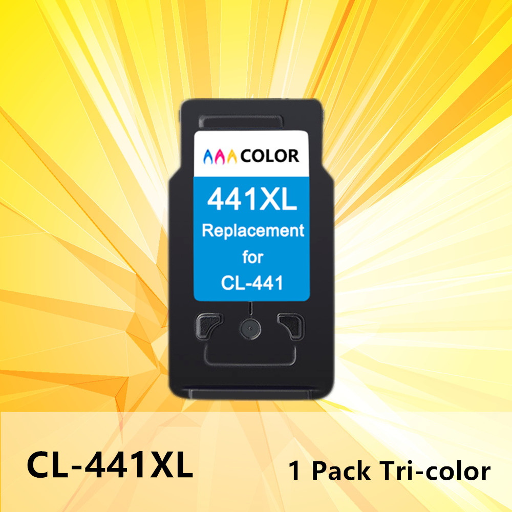 440XL 441XL Ink Inkjet Cartridge tri color PG440 PG <font><b>440</b></font> 441 <font><b>XL</b></font> for <font><b>Canon</b></font> Pixma MG2180 3180 4180 4280 MX438 518 378 printer image