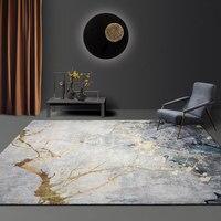 Furry rug living room lamp luxury bedroom floor pad home sofa floor door pad study floor pad carpet office decoration