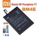 Xiao Mi Оригинальный аккумулятор для телефона BM4E для Xiaomi Mi Pocophone Poco F1 3900 мАч сменные батареи Бесплатные инструменты