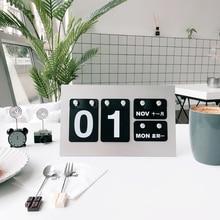 """Riutilizzabile Desktop Calendario Creativo Forniture Per Ufficio Desktop """"Fai da Te"""" Decorazione Calendario Appeso"""